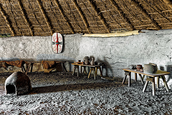 Iron Age Roundhouse Chiltern Open Air Museum