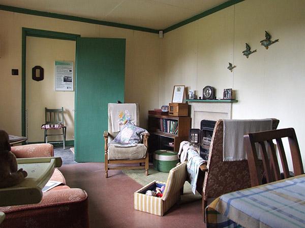 Pre-fab living room