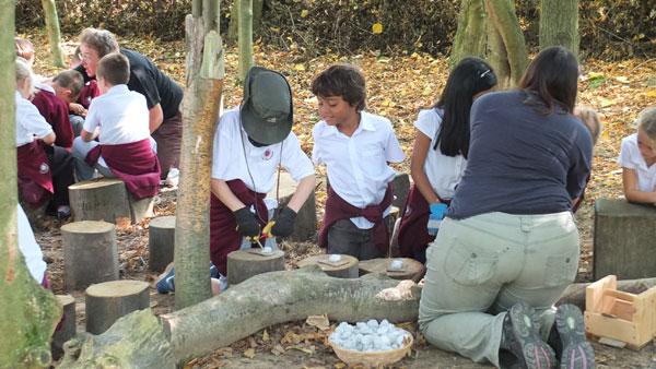 Stone Age school workshops