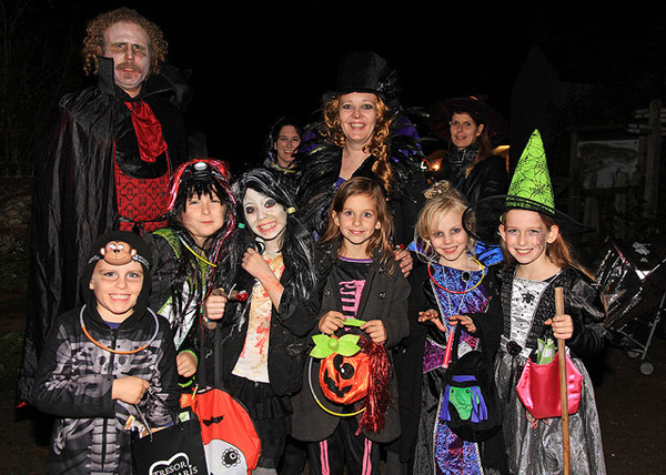 Halloween Fancy Dress at Chiltern Open Air Museum