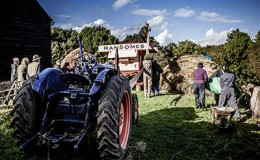 Harvest event in Buckinghamshire