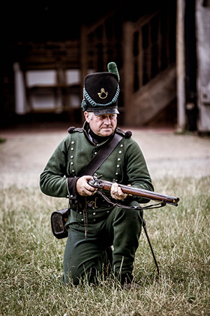 Wellington's Army living history event in Buckinghamshire