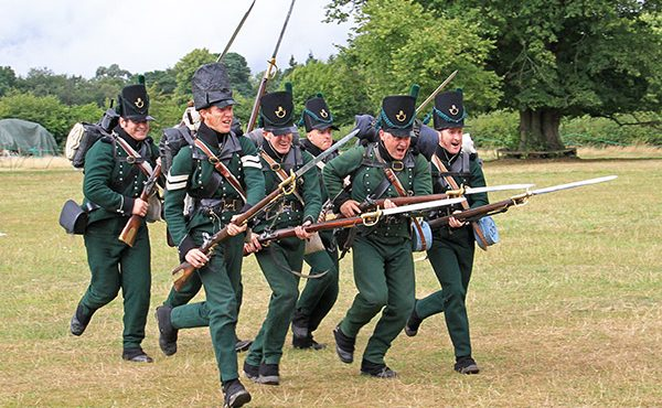 Shyarpe's Rifles living history event