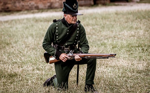 Museum living history event