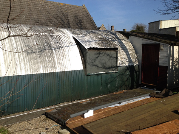 New nissen hut