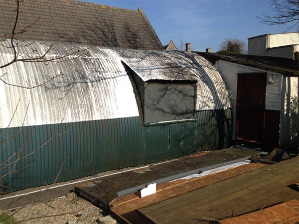 New nissen hut