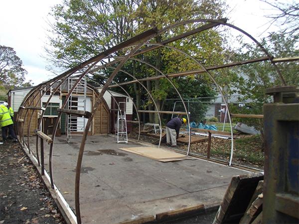 nisen hut frame