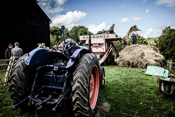 Fordson tractor at COAM