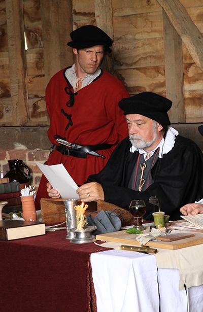 Tudor Courtroom Event