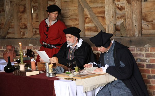 Tudor courtroom August event