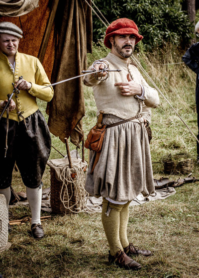 August bank holiday event Tudor Times