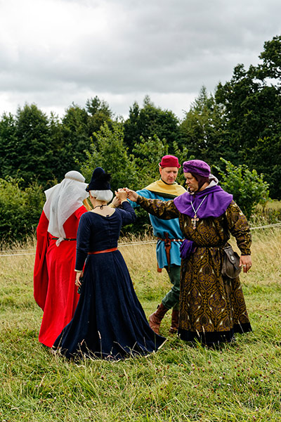 Medieval England living history event