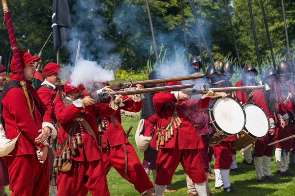 English Civil War living history