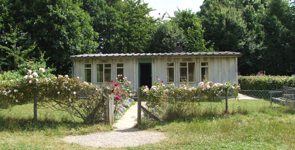 1940s prefab at Chiltern Open Air Museum
