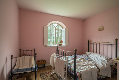 Victorian toll house Bedroom