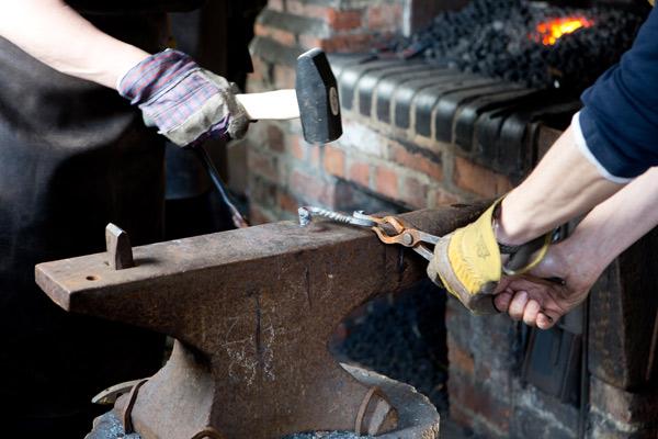 Endangered Crafts Blacksmithing at COAM