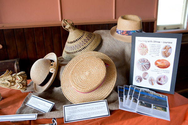 Endangered crafts straw hats