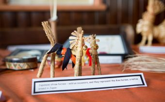Endangered crafts working with straw