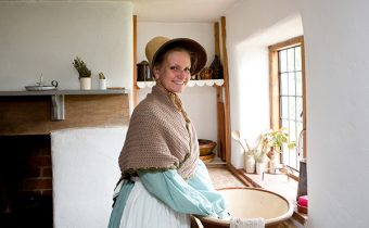 Things to do in the summer holidays - meet our costumed inhabitants