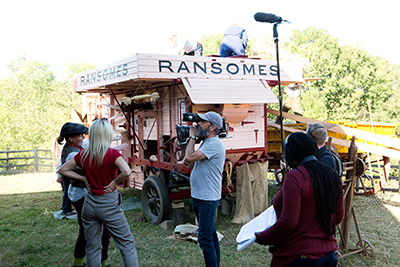 Countryfile Filming at Chiltern Open Air Museum