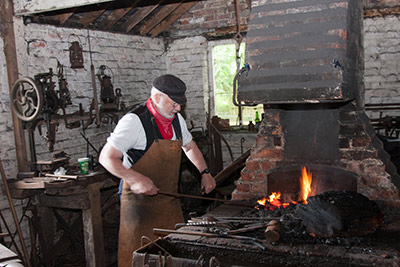 Chilterns Summer Festival Blacksmith at COAM