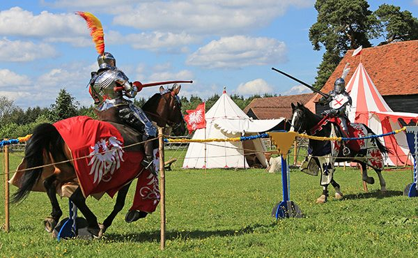 Medieval Jousting at Chiltern Open Air Museum