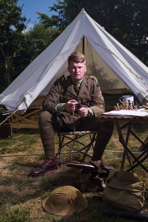 The Great War Event at Chiltern Open Air Museum in Buckinghamshire