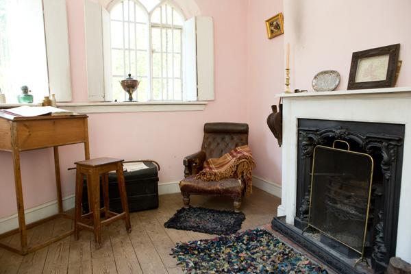 Victorian toll house living room