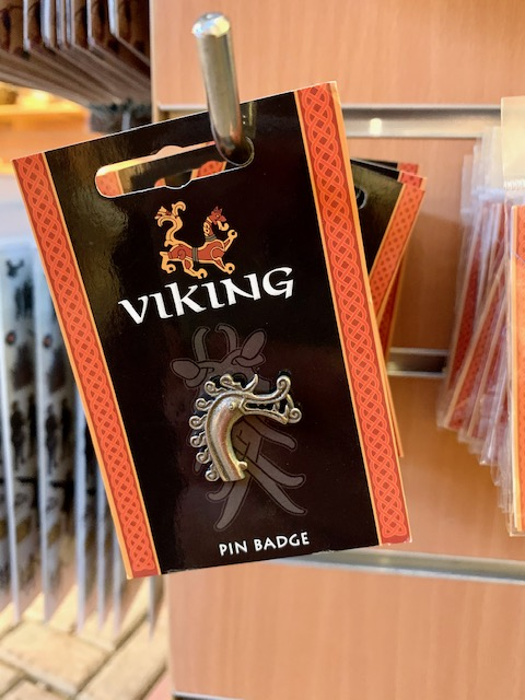 Viking Pin Badge
