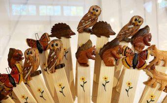 Wooden Wildlife Bookmarks