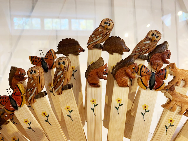 Wooden Wildlife Bookmarks
